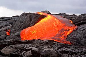 Flüge Hawaii - Lava am Kilauea
