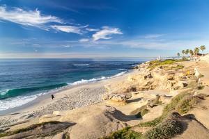 Flüge San Diego - Strand in La Jolla