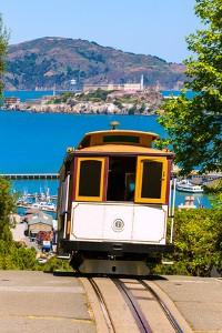 Flüge San Francisco - Cable Car und Alcatraz