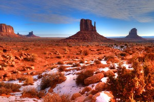USA Flug - Wetter am Monument Valley